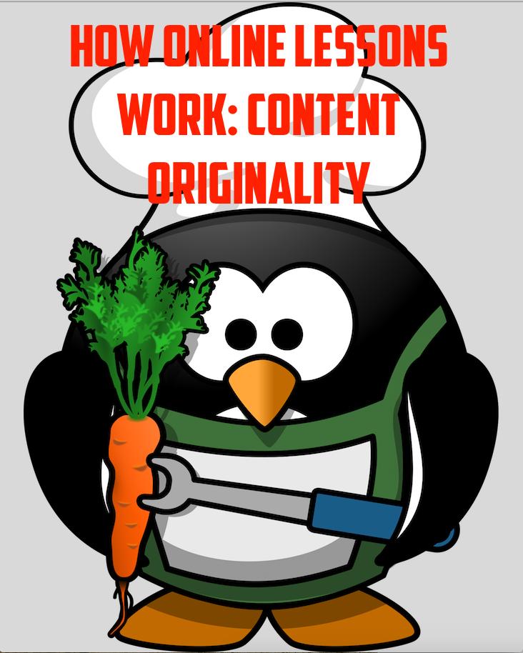 Content - Originality