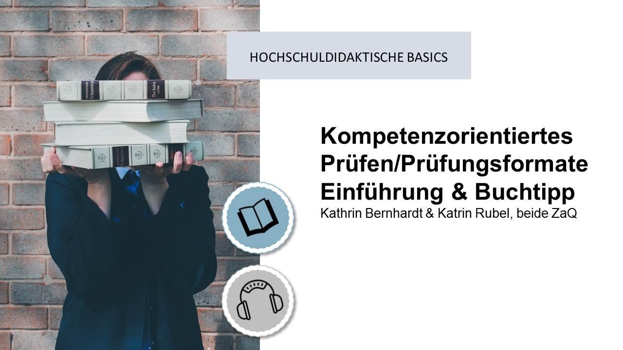 Kompetenzorientiertes Prüfen / Prüfungsformate / Buchtipp