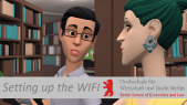 How to: Setting up the WIFI